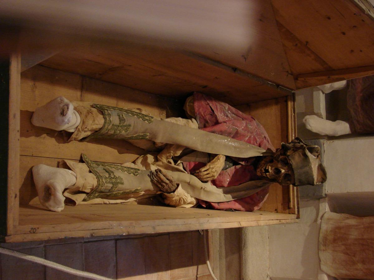 Mummia del museo di Burgio