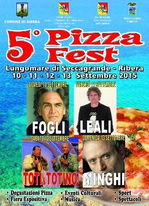 5° Pizza Fest a Seccagrande