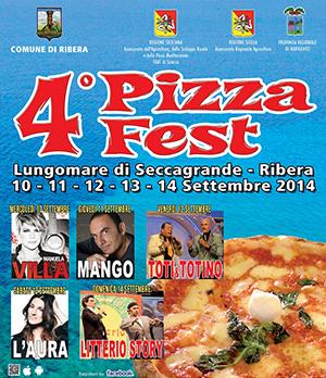 4° Pizza Fest dal 10 al 14 settembre 2014