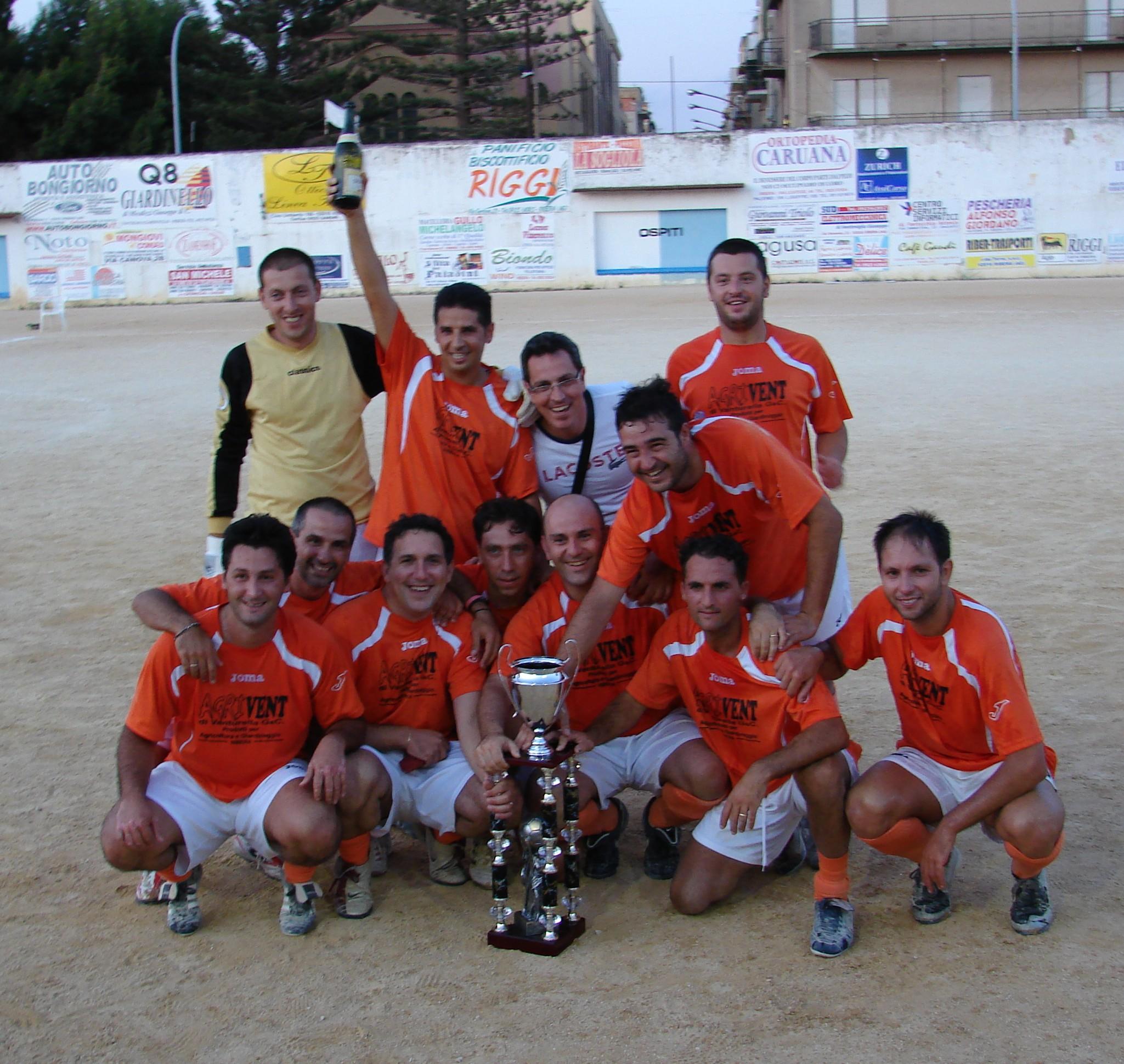 """1° torneo di calcio a 7 """"Città di Ribera"""" del 2011"""