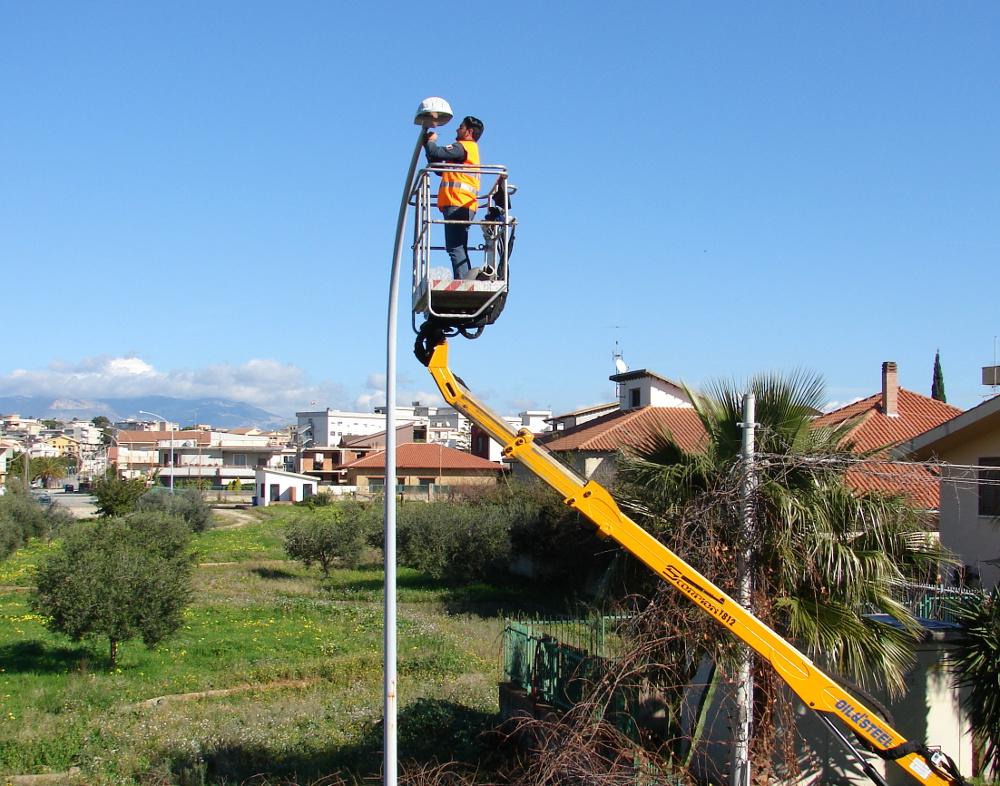 """Ribera, ritorna l'illuminazione pubblica con """"Led"""" a basso consumo energetico. • SicaniaNews.it"""