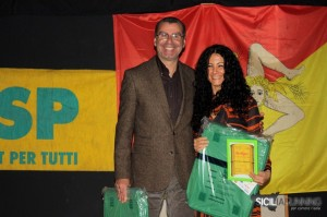 presidente fidal palermo premia m.teresa bonsignore festa atletica 2011