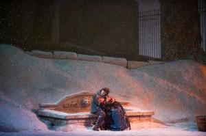 La Boheme - A scene from Act III, photo by Jonathan Tichler