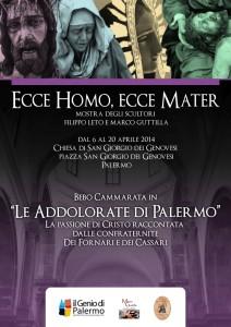 locandina Genio Mostra Ecce Homo ecce Mater
