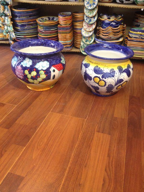 Si ricollocano vasi ornamentali nella discesa campidoglio for Arte arredi sciacca
