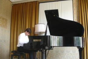 In Campania ennesima affermazione del pianista Giuseppe Spataro