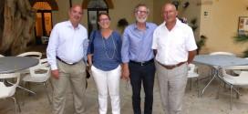 Menfi, il sindaco riceve la visita del Console Generale a Monaco di Baviera