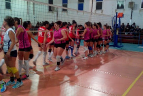 Ribera Volley campione d'inverno, sofferta vittoria in casa sul Mascalucia