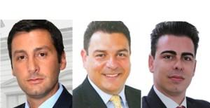 La minoranza dei tre consiglieri D'Anna, D'Azzo e Vassallo