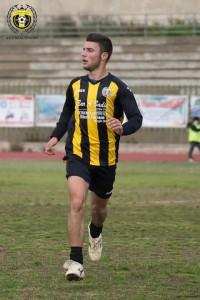Il centrocampista Antonino Tramuta, uno dei più positivi contro il Ribera