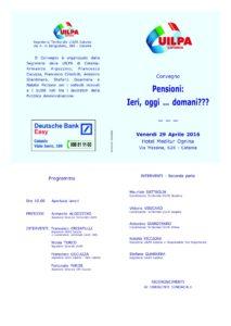 Locandina convegno UILPA Catania