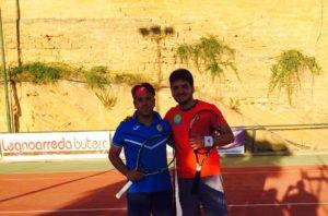 Il vincitore del torneo Antonino Armenio con il finalista Gabriele Bosco